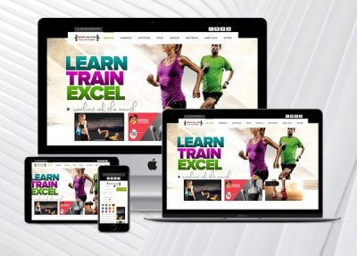 Spor Salonu / Fitness Web Paketi Sporty